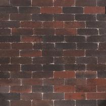 Excluton | Abbeystones Dikformaat 21x6.8x7 | Rood/zwart