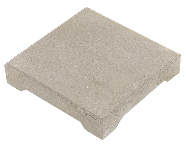 Excluton nokkentegel 30x30x4 5 cm grijs for Tegels voor dakterras