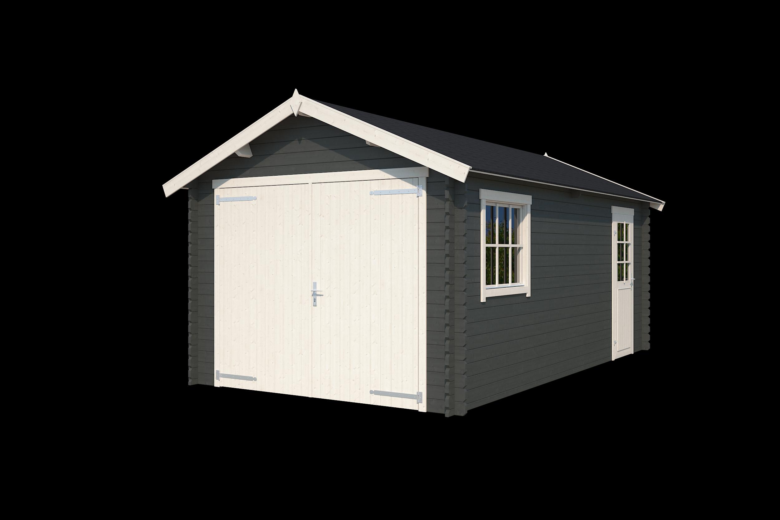 Nubuiten | Garage Dillon | Carbon Grey | 560x320 cm