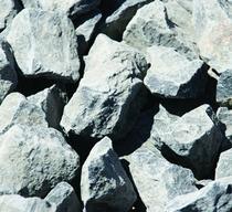 Basaltsplit Zwart 30-60 mm | 1000 kg