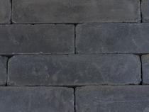 Kijlstra | Linea Muurblok Getrommeld 15x15x40 | Antraciet