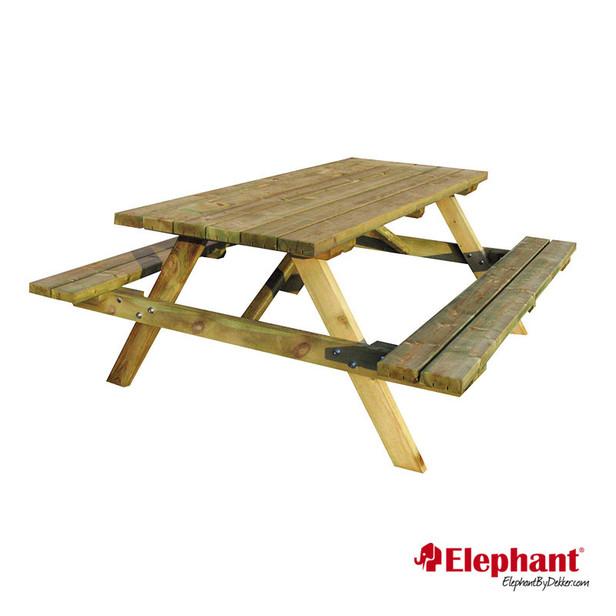 Elephant | Picknicktafel met opklapbare banken
