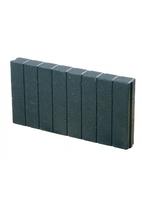Excluton | Mini Quadroband palissade 6x40x50 | Zwart