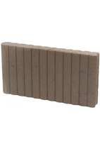Excluton | Mini Rondoband palissade 6x25x50 | Bruin