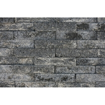 Excluton | Brickwall 30x10x6.5 | Grijs/zwart