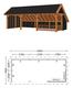 Trendhout | Kapschuur De Hoeve XL 9.26m | Combinatie 3