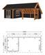 Trendhout | Kapschuur De Hoeve XL 9.26m | Combinatie 5