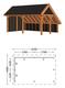 Trendhout | Kapschuur De Hoeve XL 6.35m | Combinatie 2