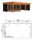 Trendhout   Buitenverblijf Regina XL 9000 mm   Combinatie 3