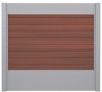 IdeAL   Scherm Zilver- Symmetry Cinnabar   180x180   9 planks