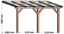 Trendhout | Terrasoverkapping La Véranda 500x300