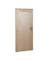 Woodvision | Dichte deur vuren | Extra breed | Linksdraaiend