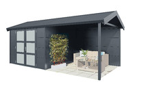 Gardendreams | Outdoor cabins met Zadeldak | Hermes | 572 x 300 cm