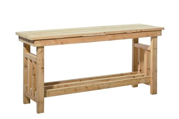 Douglas decoratietafel | Blank