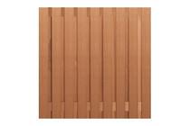 Carpgarant | Tuinscherm Keruing | 19-planks 180cm