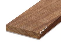 Cumaru vlonderplank 25x145mm glad | 215 cm