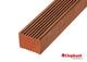 Hardhouten Keruing regel | 45x68mm | 245 cm