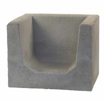 MBI | Hoek U-element 40x50x40 | Grijs