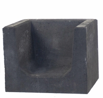 MBI | Hoek U-element 40x50x40 | Antraciet