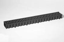 MBI | ACO Hexaline roostergoot kunststof zwart 1 meter