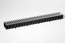 MBI | ACO Hexaline roostergoot verzinkt 1 meter