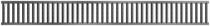 MBI | ACO Sleufrooster kunsstof 1 meter