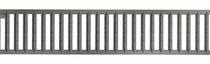 MBI | ACO Sleufrooster verzinkt staal terra 1 meter