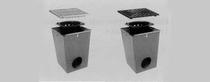 MBI | ACO Afwateringsput verzinkt met gietijzeren rooster