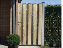 Gardival | Tuinpoort enkel | Vital | Verticaal | 100 x 180 cm