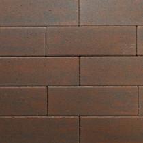 Excluton | Klinker Romano 11x33x8 cm | Gesmoord Bruin