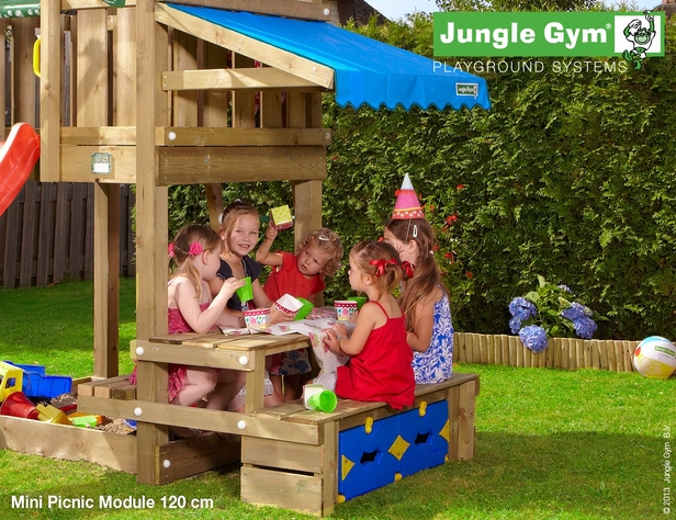 Jungle Gym | Mini Picnic Module 120 | DeLuxe