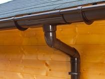 S-Lon | PVC Dakgoot Vierhoekig dak EXTRA100 | Bruin | 14 m