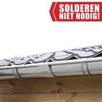 S-Lon | Dakgoot Lessenaarsdak Verzinkt | 340-510 cm