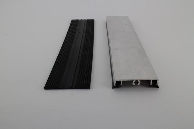 Profielset - Oplegrubber + afdekprofiel | 50 cm