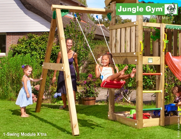 Jungle Gym | 1-Swing Module X'tra | DeLuxe