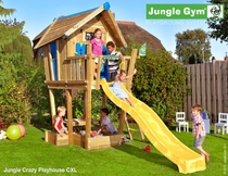 Jungle Gym Crazy | Playhouse CXL | DeLuxe | Blauw