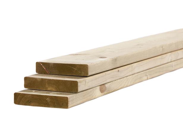 Tuinhout plank NE Vuren | 28 x 145 mm | 180 cm