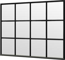 Trendhout | Steel Look raam module C-03 | 276x220 cm