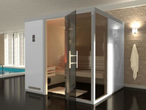 WEKA | Premium design | Sauna Bianco 1 L | 217 x 183 cm