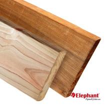 Elephant | Schuttingplank | 16x142 mm | 180 cm | Vuren bruin