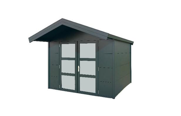 Gardendreams | Outdoor cabins met Zadeldak | Asteria | 300 x 300 cm