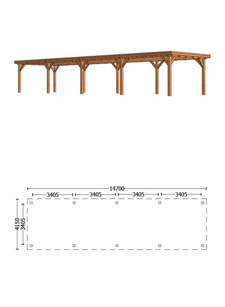 Trendhout | Buitenverblijf Siena 14700 mm | C1