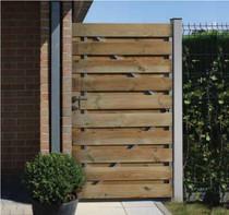 Gardival | Tuinpoort enkel | Vital | 17 planken | 100 x 180 cm