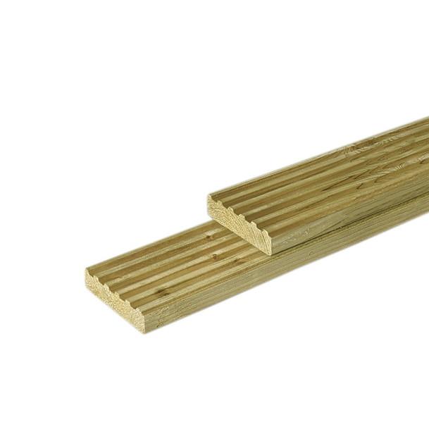 Vlonderplank/dekdeel | Vuren | 28 x 145 mm | 300 cm