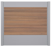 IdeAL | Scherm Zilver- Symmetry Warm Sienna | 180x180 | 9 planks