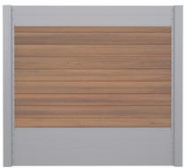 IdeAL | Scherm Zilver- Symmetry Warm Sienna | 180x180 | 9 planks