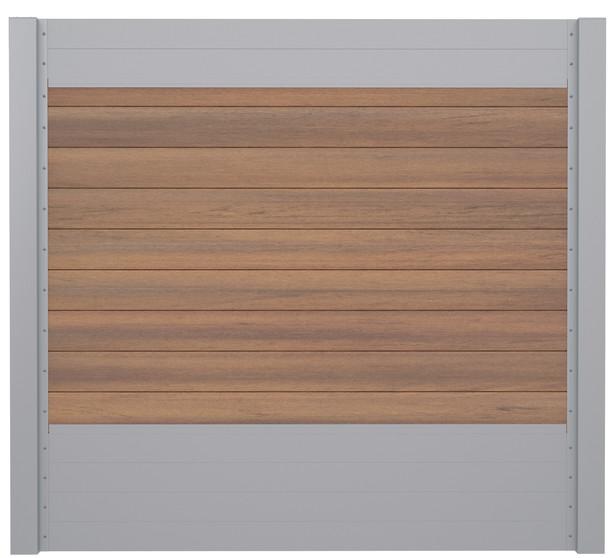 IdeAL   Scherm Zilver- Symmetry Warm Sienna   180x180   9 planks