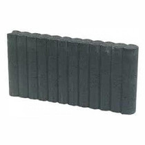 Excluton | Mini Rondoband palissade 6x40x50 | Zwart
