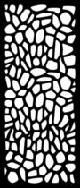 Cortenscherm Rome - 120x60 cm