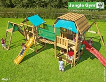 Jungle Gym | Speelparadijs Mega 1 | Rood
